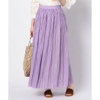 スカート 【WEB限定】ワッシャーマキシスカート