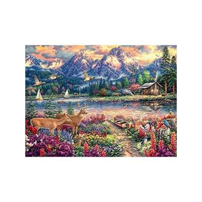 Buffalo Games - Chuck Pinson - Spring Mountain Majesty - 1000 Piece Jigsaw