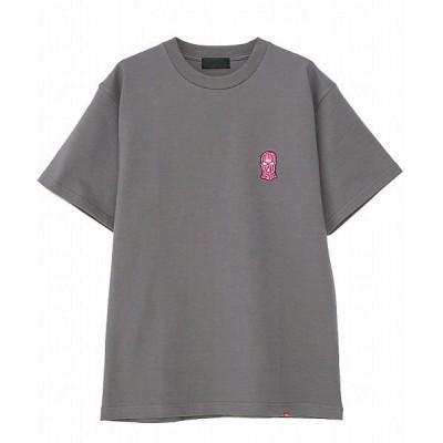 【シルバーバレット】 RAZZISMask embroidery Ttee / 3colors メンズ グレー 44(M) SILVER BULLET