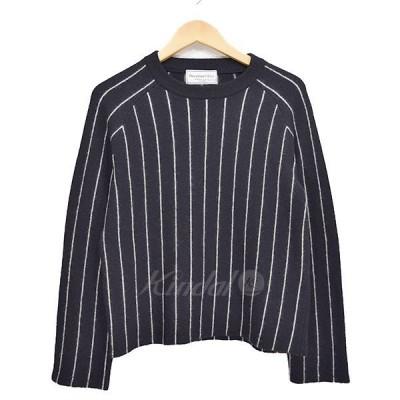 DEUXIEME CLASSE チョークストライププルオーバー 2014AW ブラック サイズ:- (新潟紫竹山店) 171019