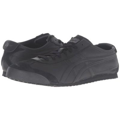 オニツカタイガー Onitsuka Tiger メンズ スニーカー シューズ・靴 Mexico 66 Black/Black