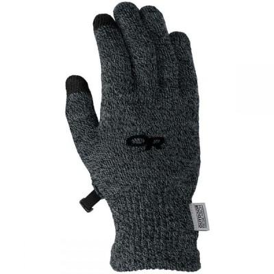 アウトドアリサーチ Outdoor Research レディース 手袋・グローブ BioSensor Glove Liner Charcoal