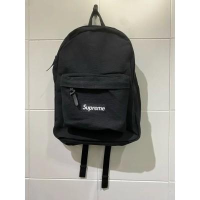 Supreme 20aw Canvas Backpack シュプリーム キャンバスバックパック リュック 20fw ブラック南堀江