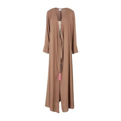 メルシー ..,MERCI ロングワンピース&ドレス キャメル 40 ポリエステル 100% ロングワンピース&ドレス