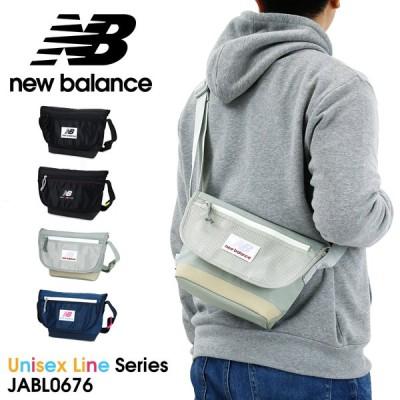 送料無料 new balance(ニューバランス) Unisex Line(ユニセックスライン) ミニショルダーバッグ 斜め掛けバッグ 3L B6 メンズ レディース JABL0676