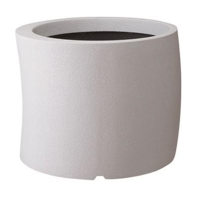 大和プラスチック ファイバーグラスシリーズ カーブ 50型 ホワイト (底穴なし)