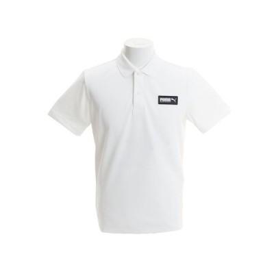 プーマ(PUMA) SB 半袖ポロシャツ 845072 02 WHT オンライン価格 (メンズ)