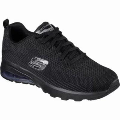 スケッチャーズ スニーカー Skech-Air Varsity Training Shoe Black