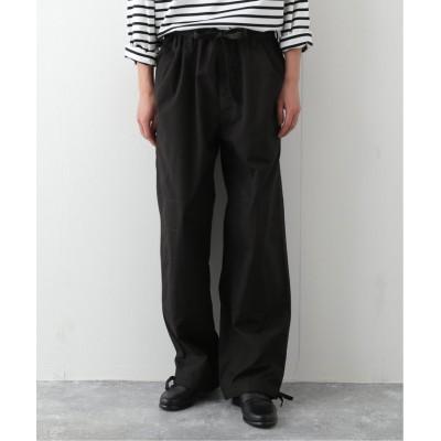 【エディフィス】 DRAWSTRING JUDO パンツ メンズ ブラック M EDIFICE