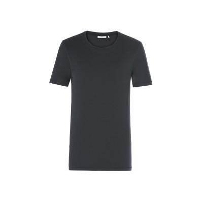 MINIMUM T シャツ ブラック S コットン 100% T シャツ