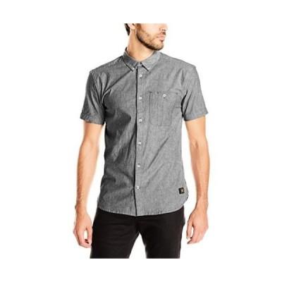 DC Tシャツ DC Young メンズ EDYWT03046 Chamber 半袖 Woven Shirt Black