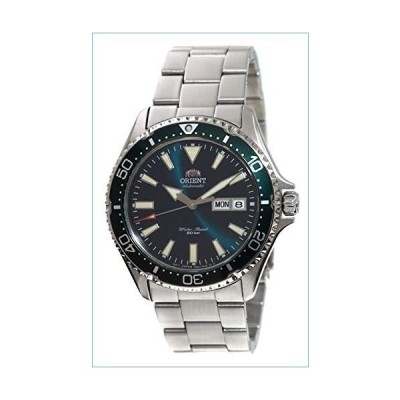 ORIENT Mens Diving Sports Automatic 200m Watch with Green Dial Steel Bracelet RA-AA0004E並行輸入品