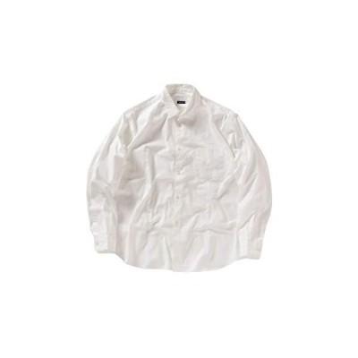 シップスエニィ メンズ SHIPS any シャツ オックスフォード リラックス レギュラー メンズ 711140002 ホワイト 白 L