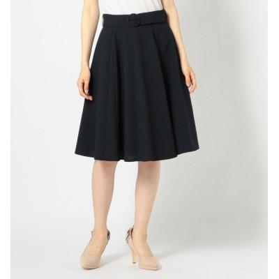 【ミッシュマッシュ/MISCH MASCH】 共ベルト付きフレアスカート