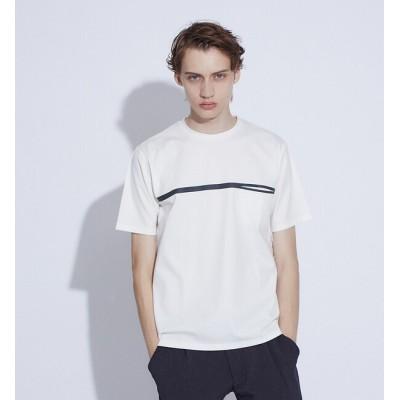 【アバハウス/ABAHOUSE】 【FLAT TECH】フロント ポケット Tシャツ