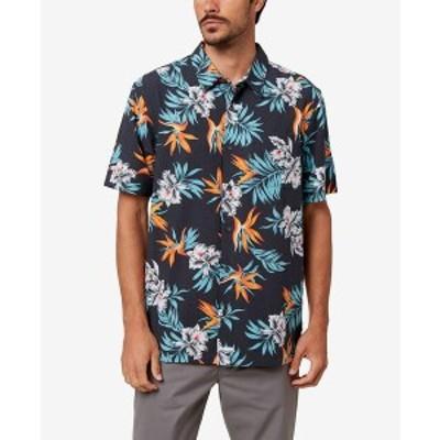 オニール メンズ シャツ トップス Men's Departure Button-Up Shirt Black
