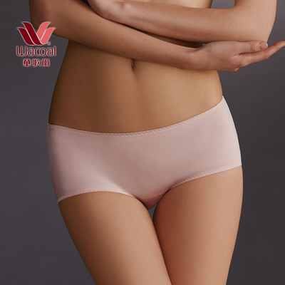 摩奇X 塑身系列 雙提托 M-3L  中腰平口褲(柔膚粉)