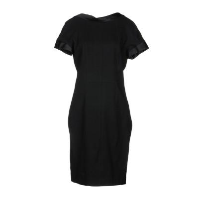 タラ ジャーモン TARA JARMON ミニワンピース&ドレス ブラック 42 ウール 98% / ポリウレタン 2% ミニワンピース&ドレス
