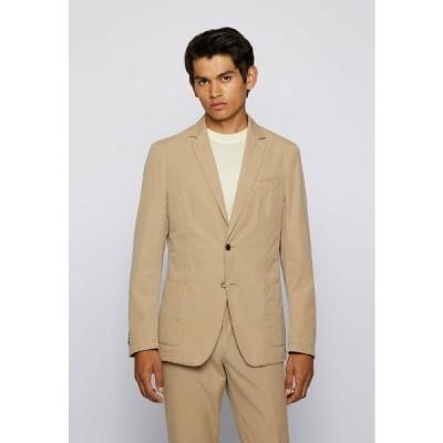 ボス ジャケット&ブルゾン メンズ アウター Blazer jacket - open beige