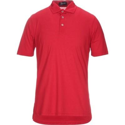 ドルモア DRUMOHR メンズ ポロシャツ トップス Polo Shirt Red