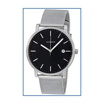 【新品】Skagen SKW6314 メンズ Hagen 3針 日付 シルバー ステンレススチール 腕時計【並行輸入品】