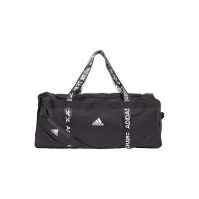 アディダス メンズ ショルダーバッグ バッグ 4ATHLTS 3 STRIPES DUFFEL BAG - Sports bag - black black