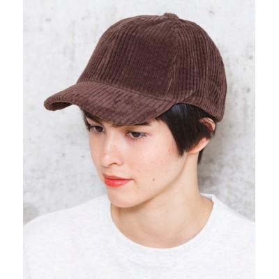 Factor= / 太コーデュロイワークキャップ WOMEN 帽子 > キャップ