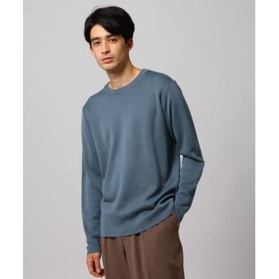 tk.TAKEO KIKUCHI / 【S~3L】ミラノリブニットクルーネックプルオーバー MEN トップス > ニット/セーター