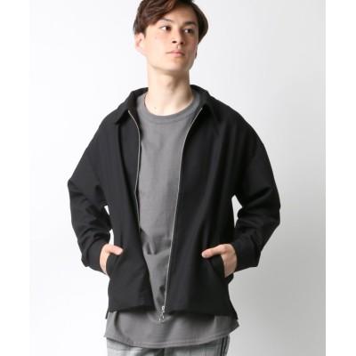 【ラザル】 T/Rストレッチ フルジップジャケット/スウィングトップ ユニセックス ブラック M LAZAR