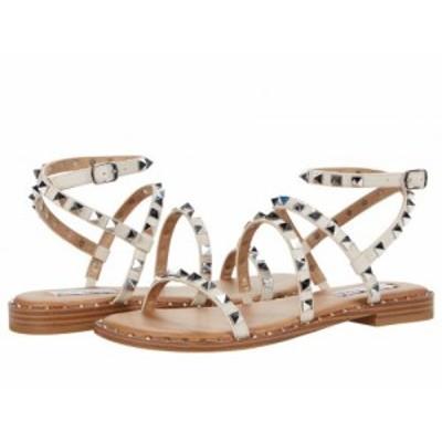 Steve Madden スティーブマデン レディース 女性用 シューズ 靴 サンダル Travel Flat Sandal Bone【送料無料】