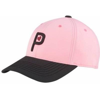 プーマ レディース 帽子 アクセサリー PUMA Women's Valentine's Golf Hat Pink Lady