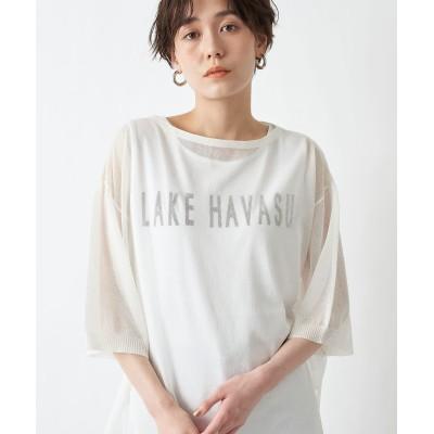 ここでしか手に入らない!【WEB限定】シースルーロゴTシャツ