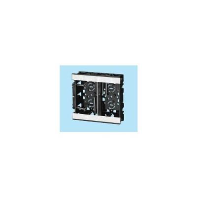 未来工業 SBS-WM 浅形スライドボックス 2ヶ用 深さ28mm [代引き不可]