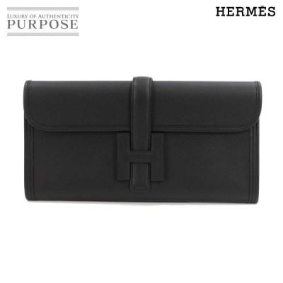 新品 未使用 エルメス HERMES ジジェ エラン 29 クラッチ バッグ スイフト ブラック T刻印