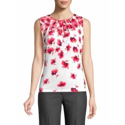 カルバンクライン レディース トップス シャツ Sleeveless Floral Top