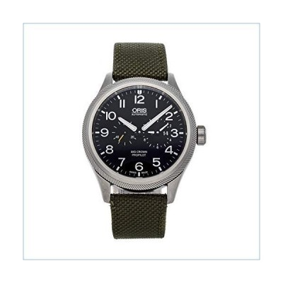 Oris Big Crown Mechanical (Automatic) Black Dial Mens Watch 01 690 7735 4164-07 5 22 14FC (Certified Pre-Owned)並行輸入品