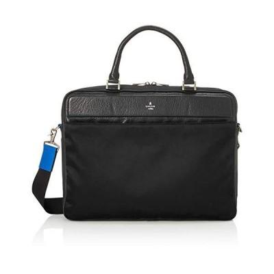 ランバンオンブルー ロビックス ビジネスバッグ A4 薄マチ 559501 メンズ クロ