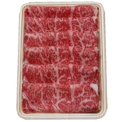 ギフト 北海道産 黒毛和牛ロースすき焼き用