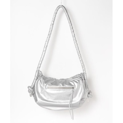 grapevine by k3 / FAKE LEATHER HALF MOON BAG WOMEN バッグ > ショルダーバッグ