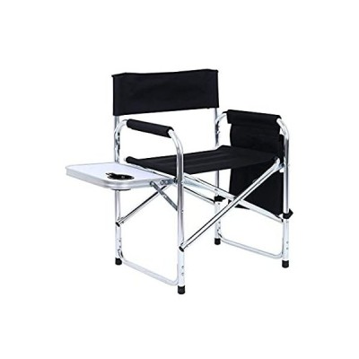 Oversized Camping Director Chair Heavy Duty Frame Collapsible Recliner, Sup 並行輸入品
