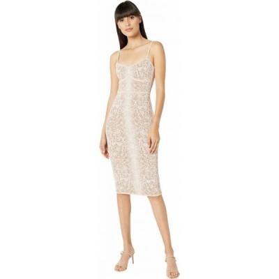 ビーシービージーマックスアズリア BCBGMAXAZRIA レディース ワンピース ワンピース・ドレス Python Knit Dress Bare Pink Combo
