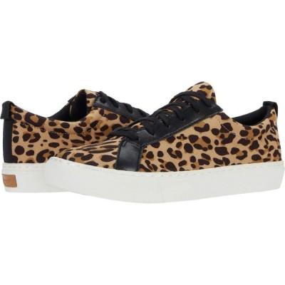 ドクター ショール Dr. Scholl's レディース スニーカー シューズ・靴 No Bad Vibes Tan/Black Leopard