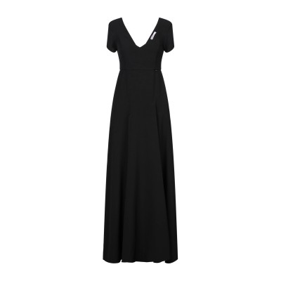 ブルーガールフォリー BLUGIRL FOLIES ロングワンピース&ドレス ブラック 40 ポリエステル 88% / ポリウレタン 12% ロング