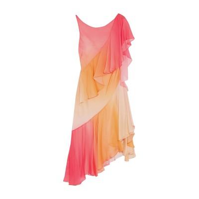 テンパリー・ロンドン TEMPERLEY LONDON ミニワンピース&ドレス あんず色 14 シルク 100% ミニワンピース&ドレス