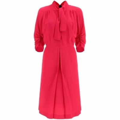 MARNI/マルニ Fuchsia Marni midi dress with bow レディース 春夏2021 ABMA0670A0TV285 ik