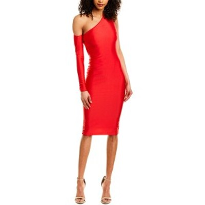 イシュー レディース ワンピース トップス issue New York Midi Dress red