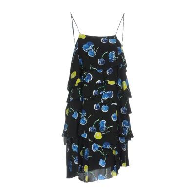 エムエスジーエム MSGM ミニワンピース&ドレス ブラック 38 シルク 100% ミニワンピース&ドレス