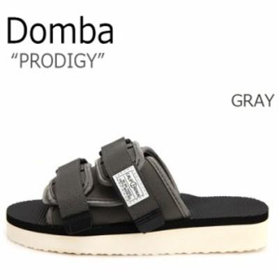 ドンバ サンダル DOMBA メンズ レディース PRODIGY プロディジー GRAY グレー F-7205 シューズ