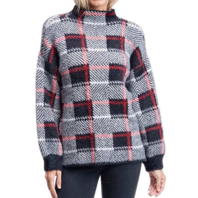 フィーバー ニット&セーター アウター レディース Plaid Sweater Black