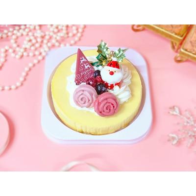 クリスマスケーキ2020「ベイクドチーズケーキ」